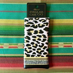 NWOT 🕶🐆👓 leopard print 👓🕶eyeglass 🕶👓case!